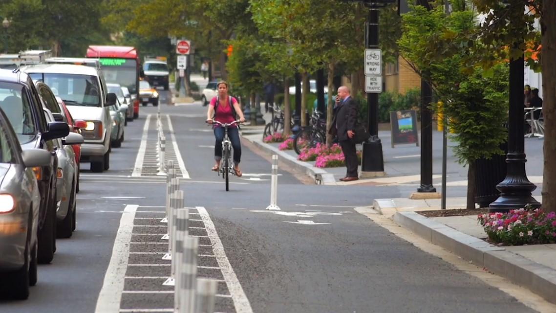 zaštićene trake za bicikliste