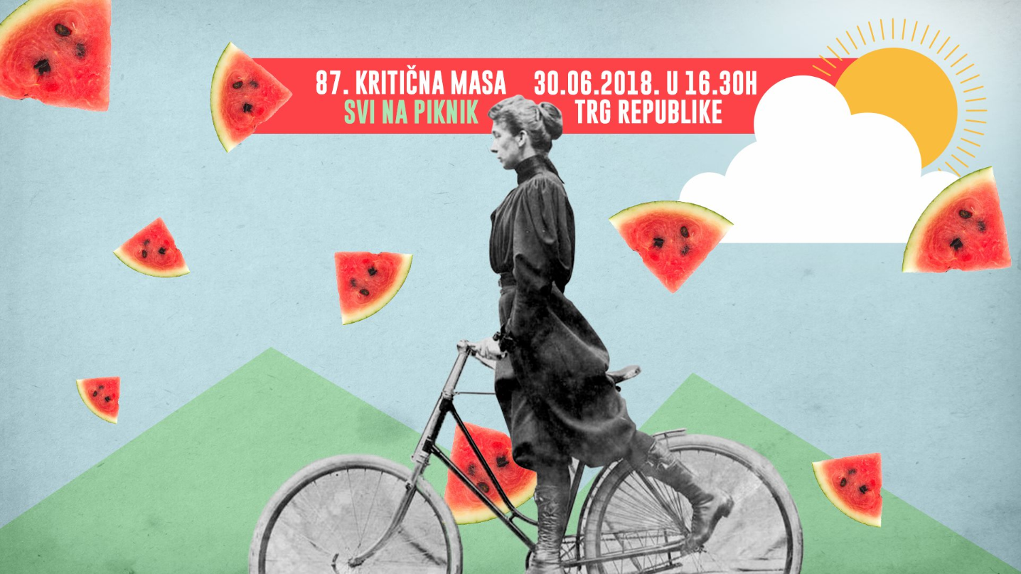 87. kritična masa bicikl beograd