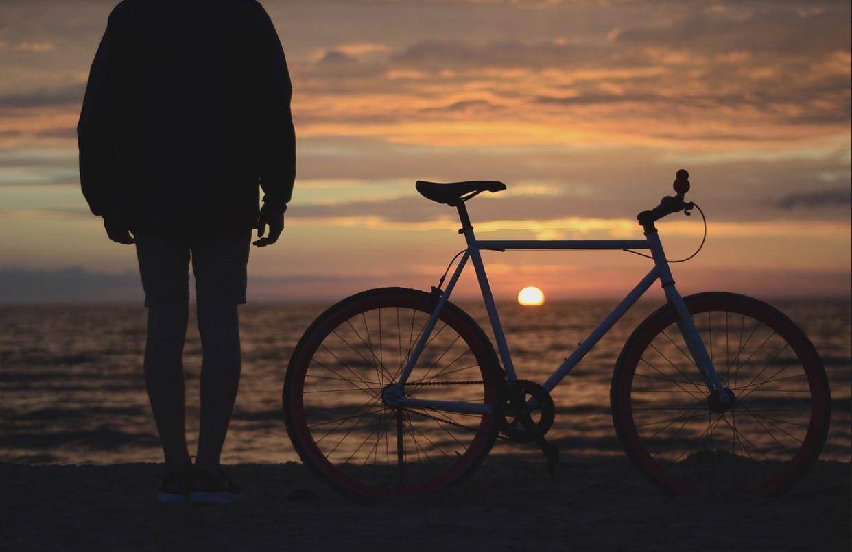 održavanje bicikla plaža more