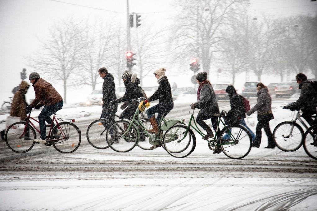 biciklanje zimi