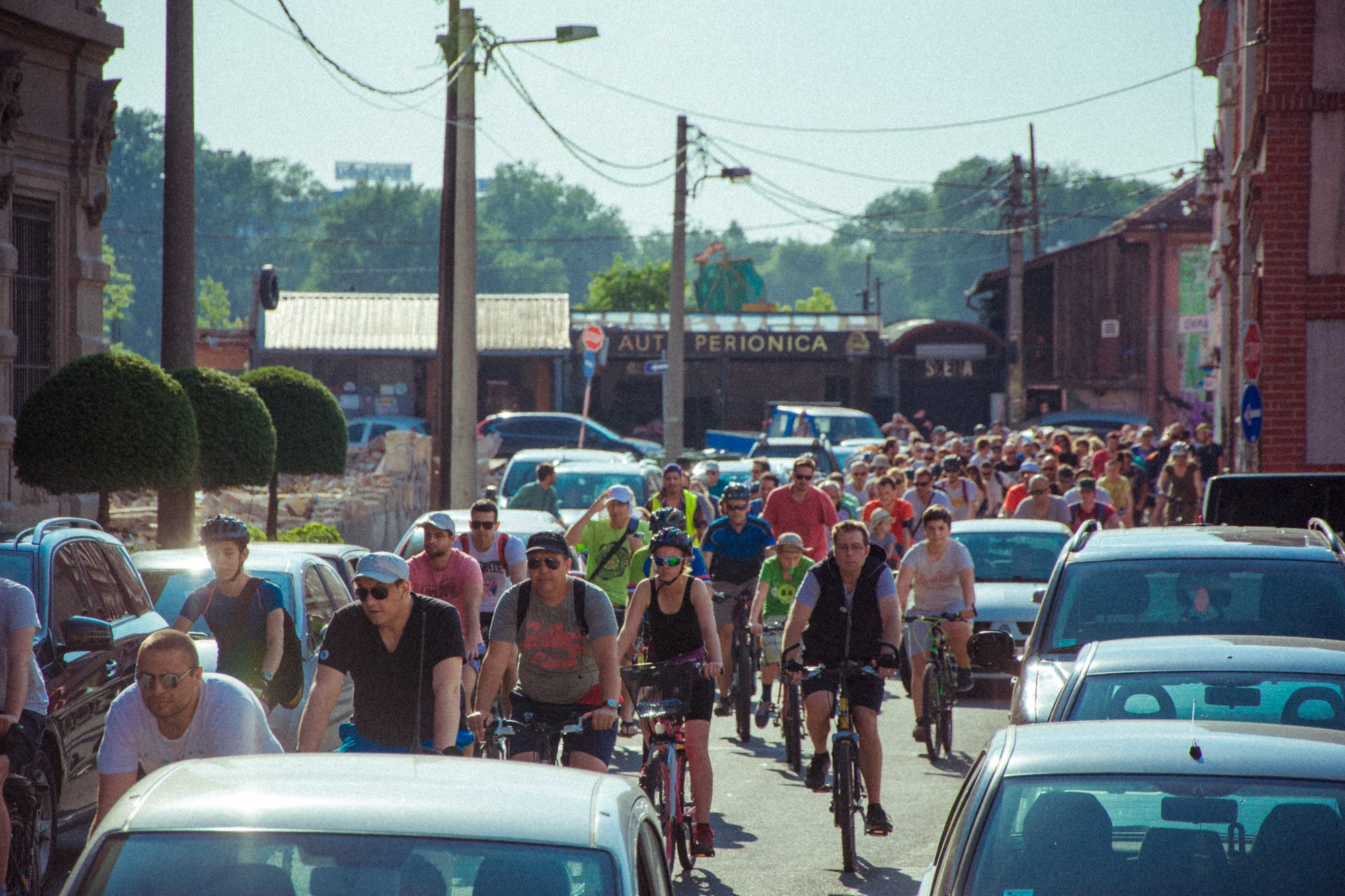 Београдска Критична маса Светски дан бицикла