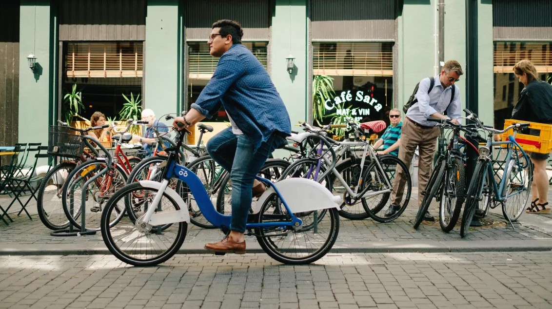 Oslo bicikl centar grada