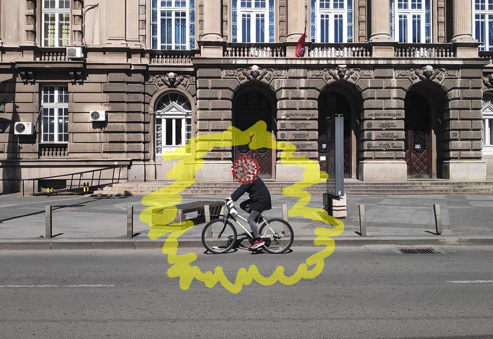 Bicikl korona virus
