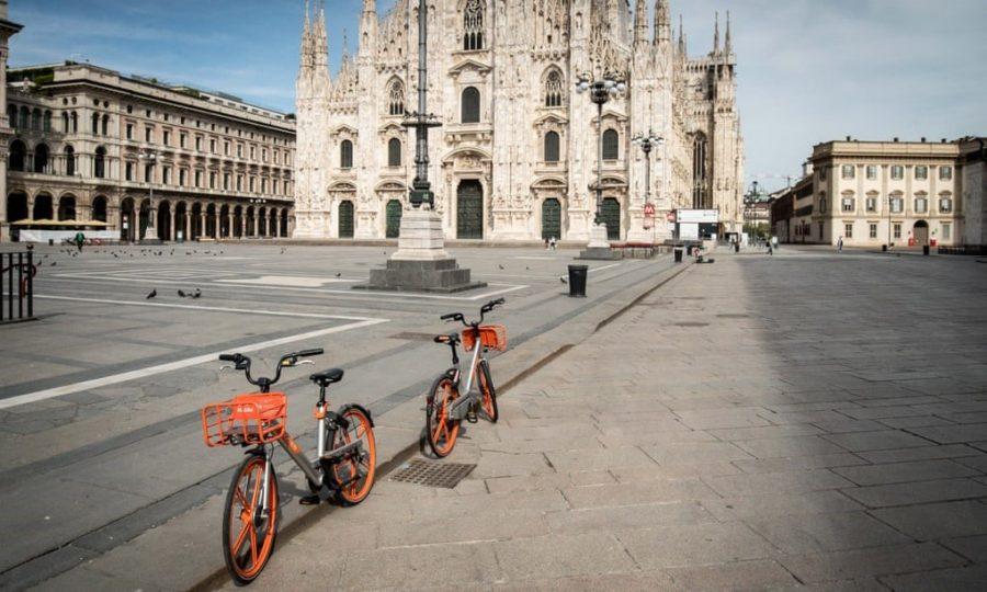 milano bicikl koronavirus