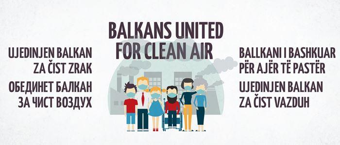 Ujedinjen balkan za čist vazduh