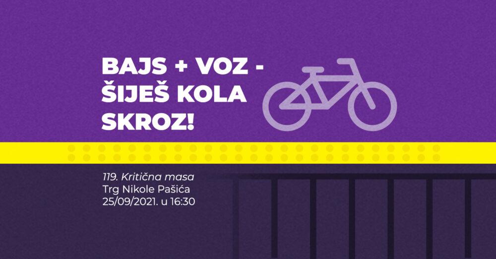119. Kritična masa Beograd Bicikl